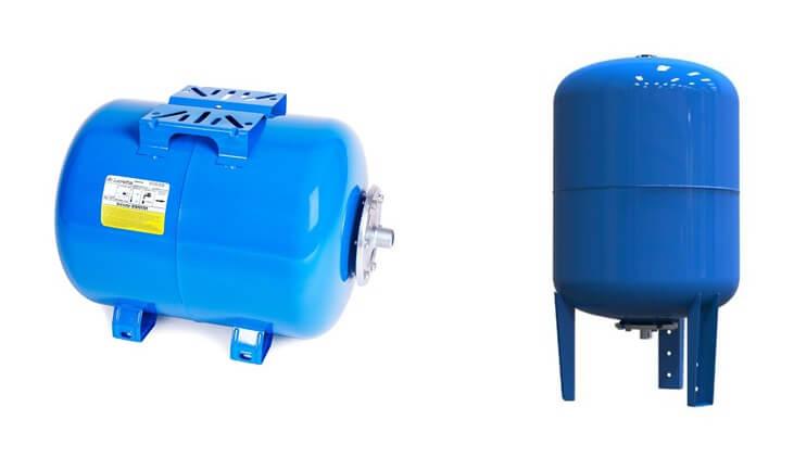 Расширительный бак гидроаккумулятор без насоса для отопления